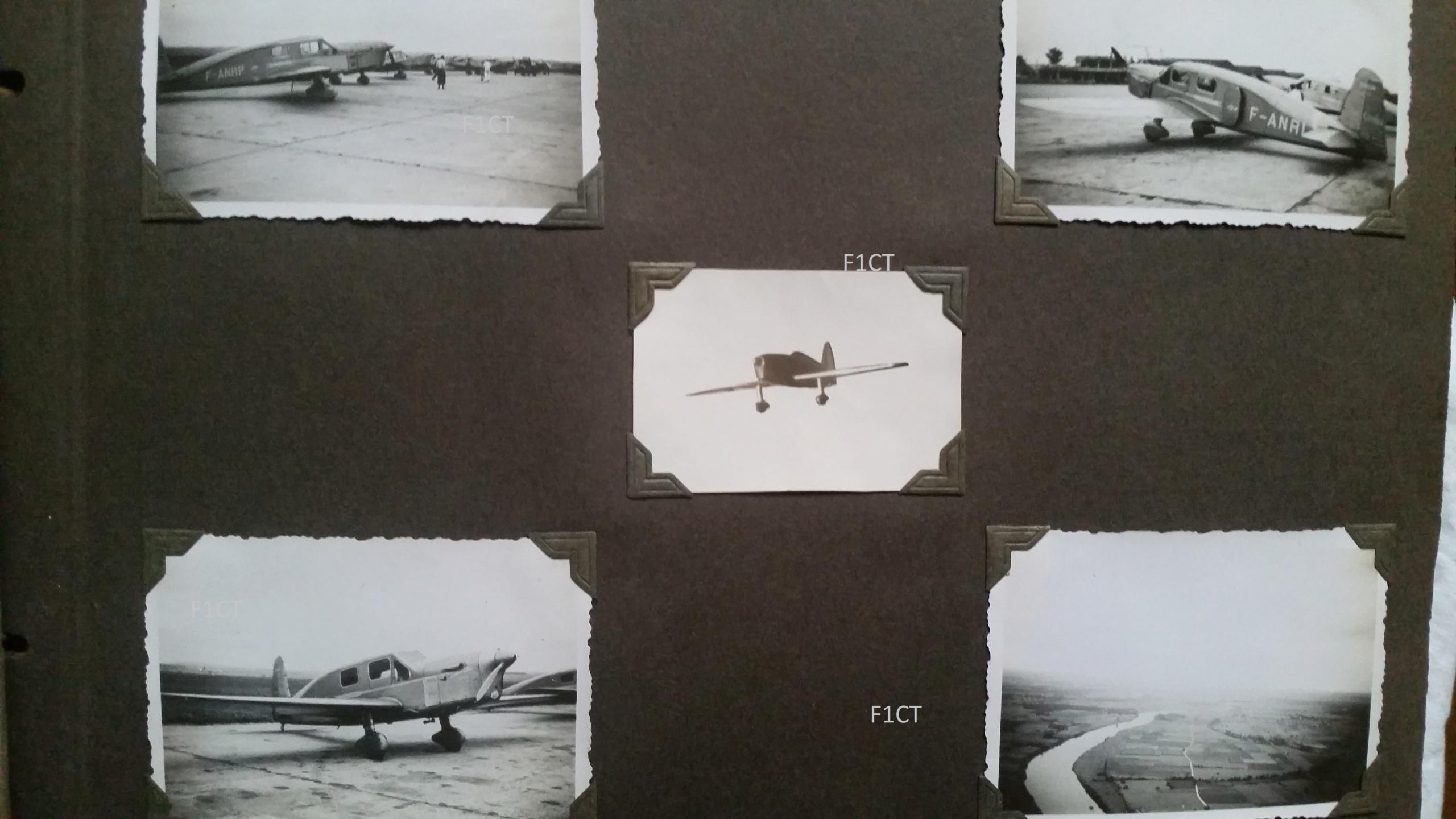 Superbe album aviation d'un LTN de réserve, immédiat avant guerre  20210139