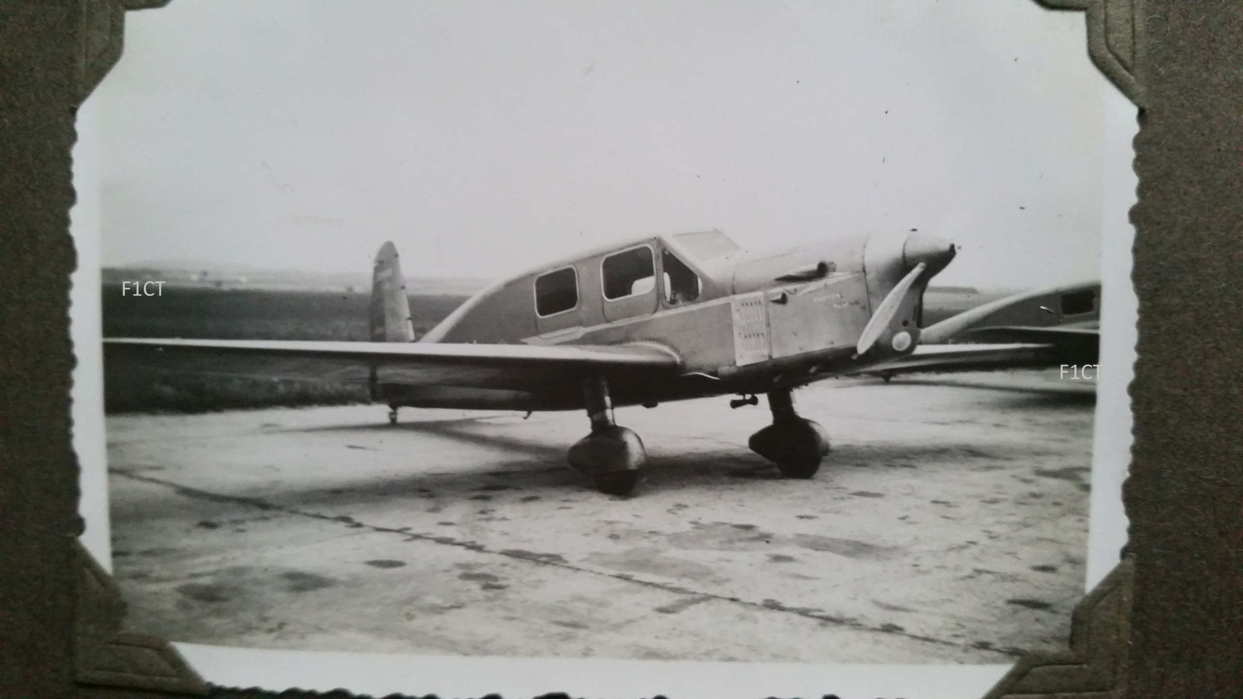 Superbe album aviation d'un LTN de réserve, immédiat avant guerre  20210140
