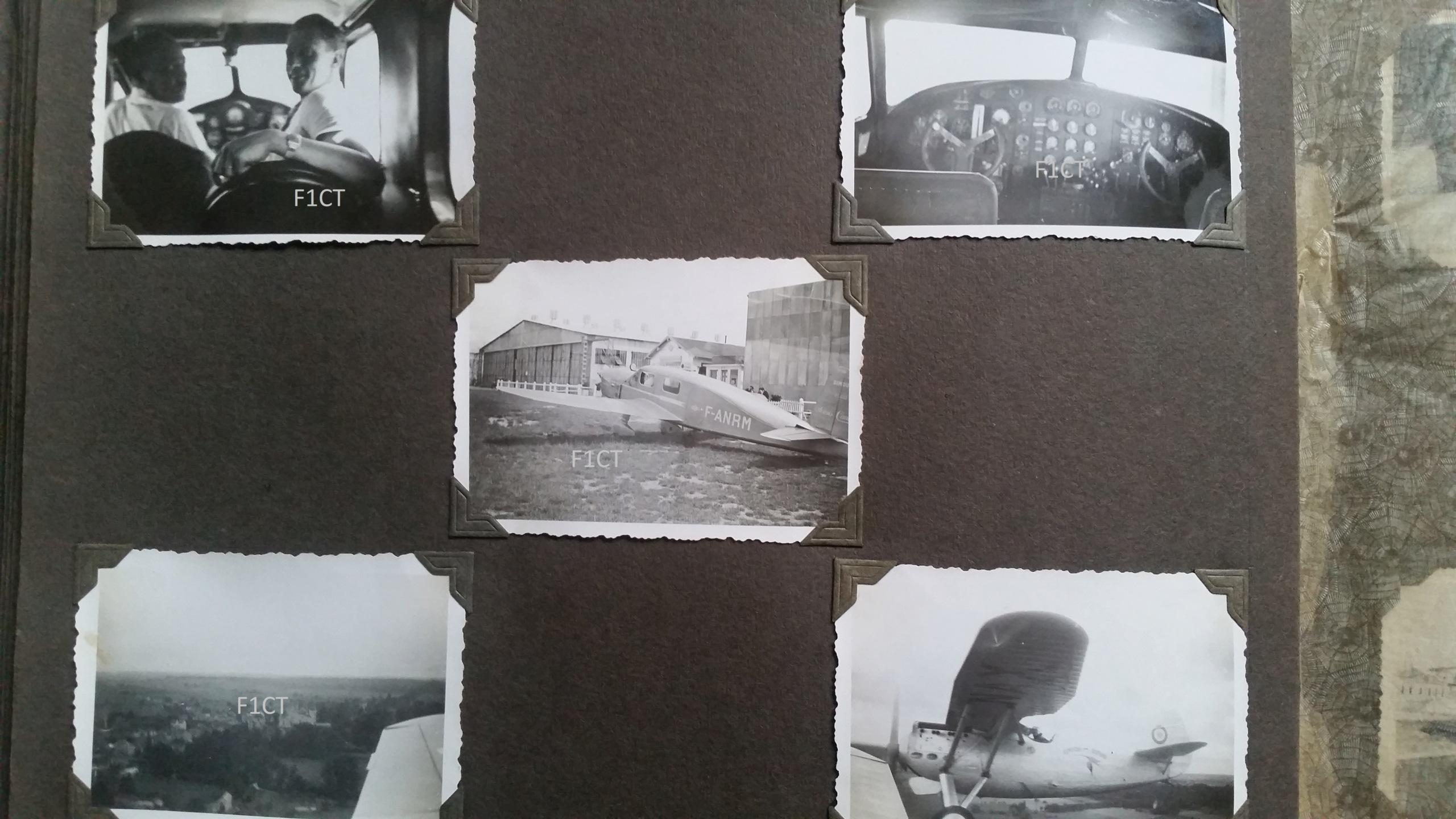 Superbe album aviation d'un LTN de réserve, immédiat avant guerre  20210141