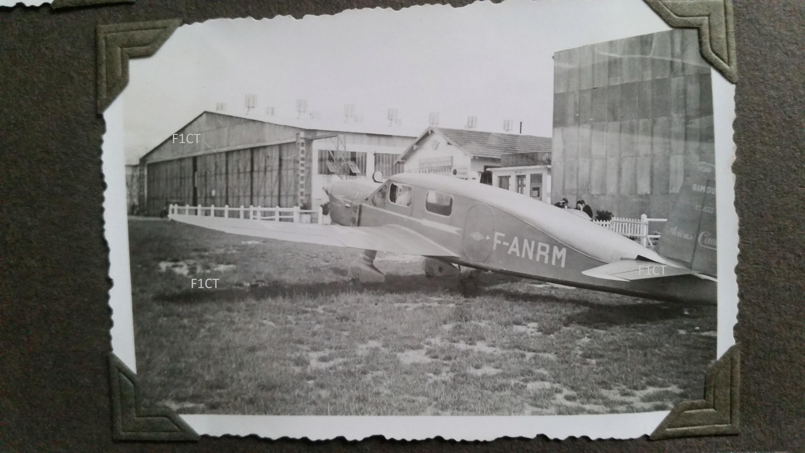 Superbe album aviation d'un LTN de réserve, immédiat avant guerre  20210142