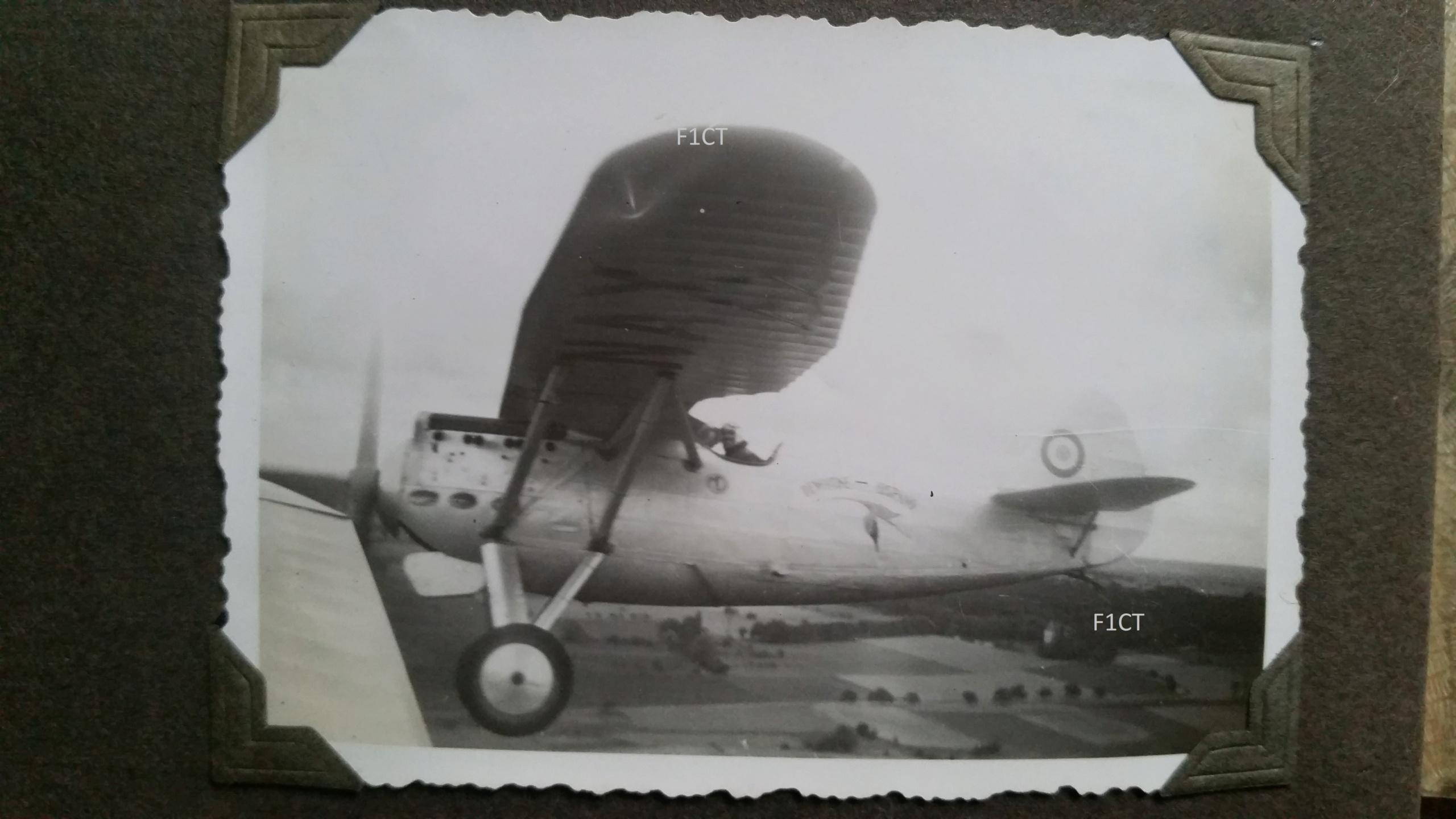 Superbe album aviation d'un LTN de réserve, immédiat avant guerre  20210144