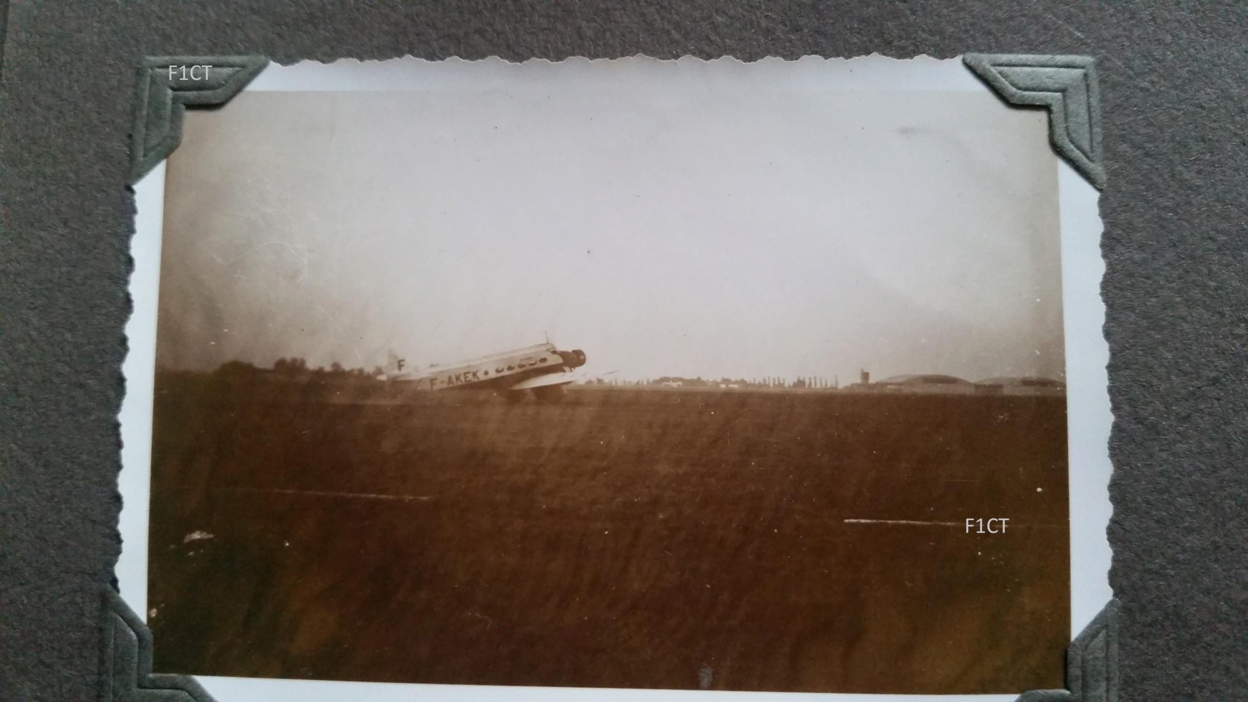 Superbe album aviation d'un LTN de réserve, immédiat avant guerre  20210145