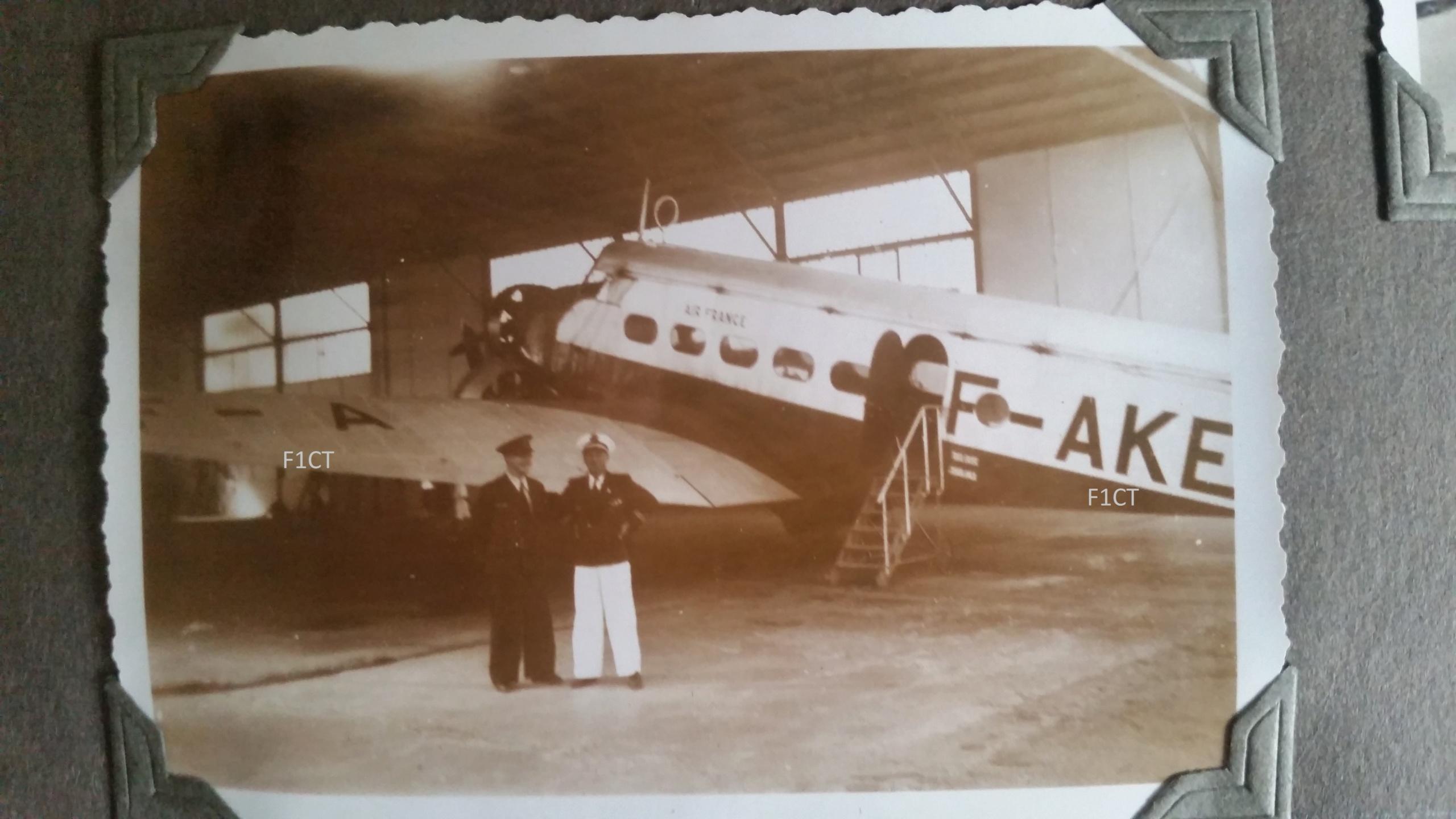 Superbe album aviation d'un LTN de réserve, immédiat avant guerre  20210147
