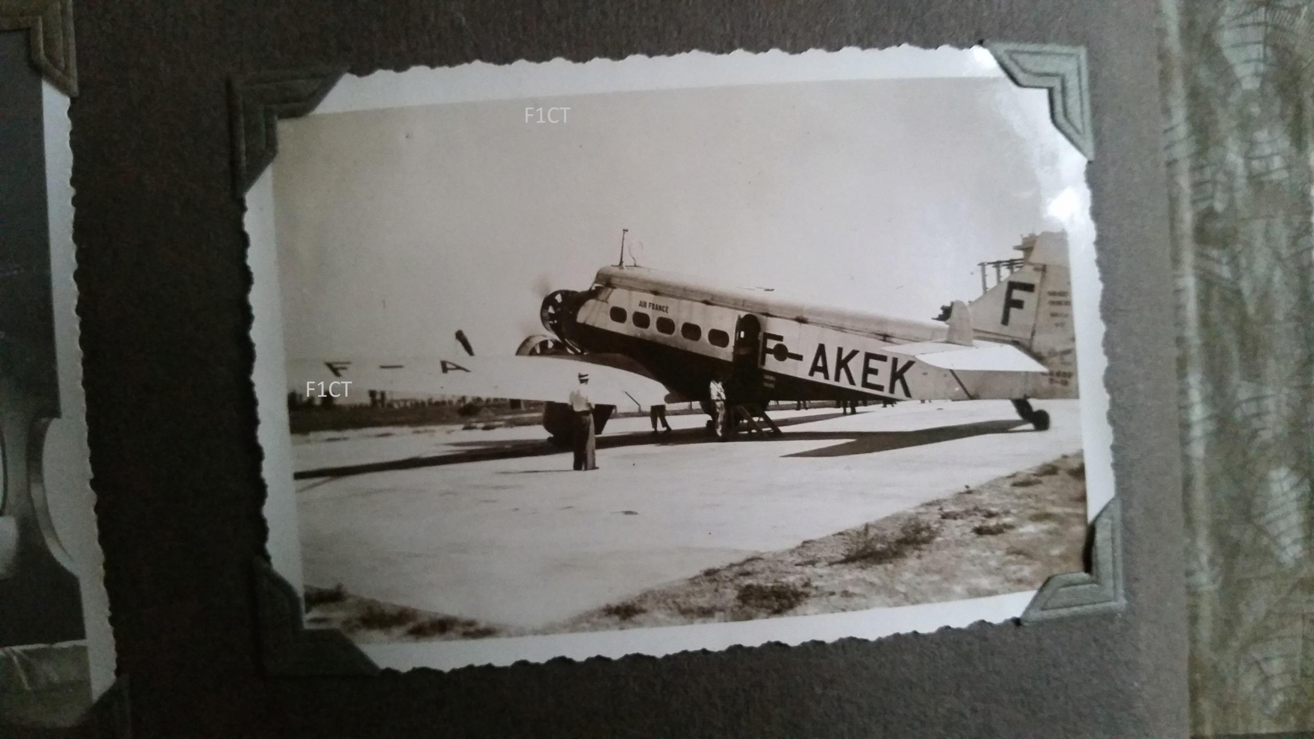 Superbe album aviation d'un LTN de réserve, immédiat avant guerre  20210148