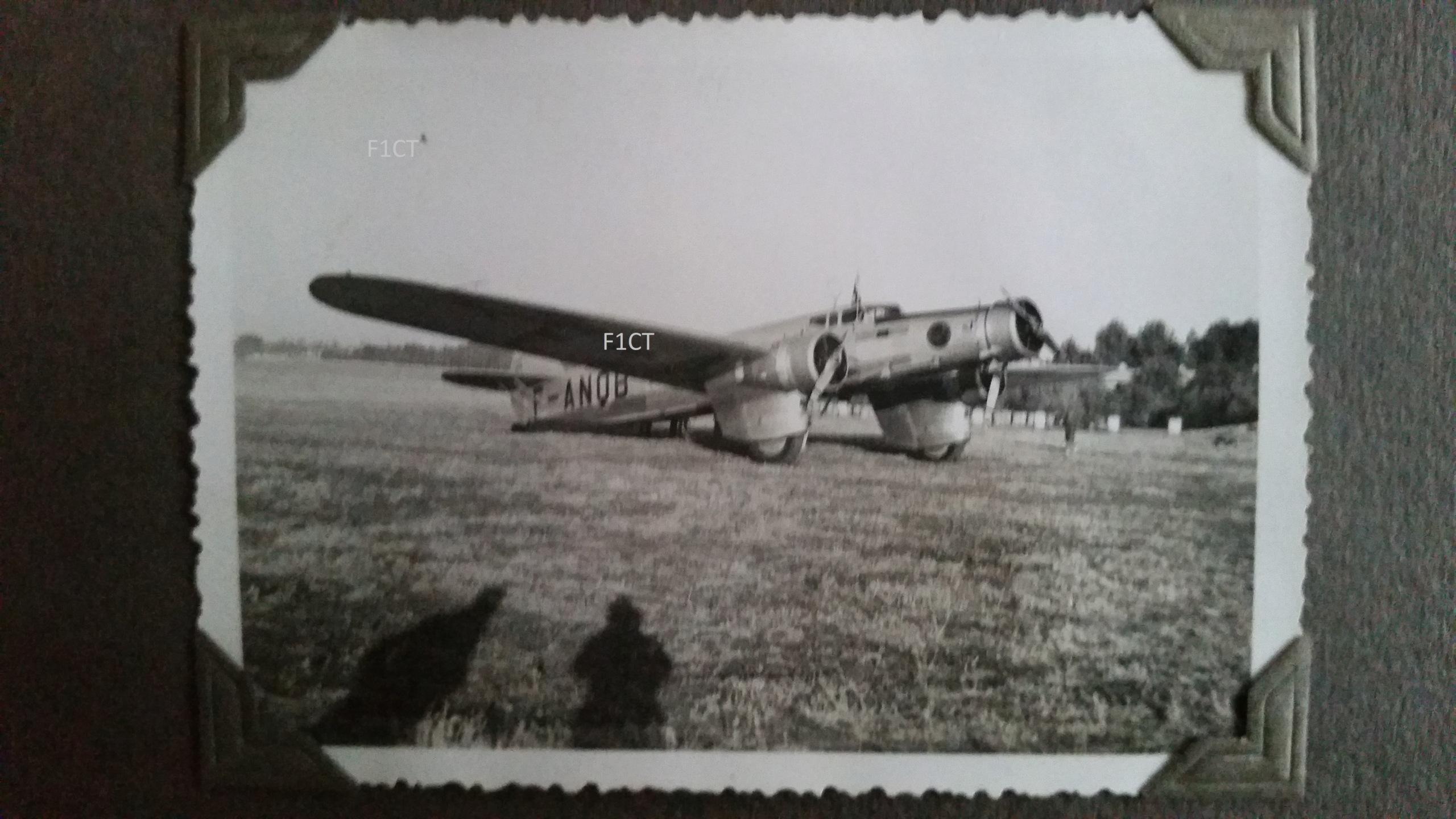 Superbe album aviation d'un LTN de réserve, immédiat avant guerre  20210149