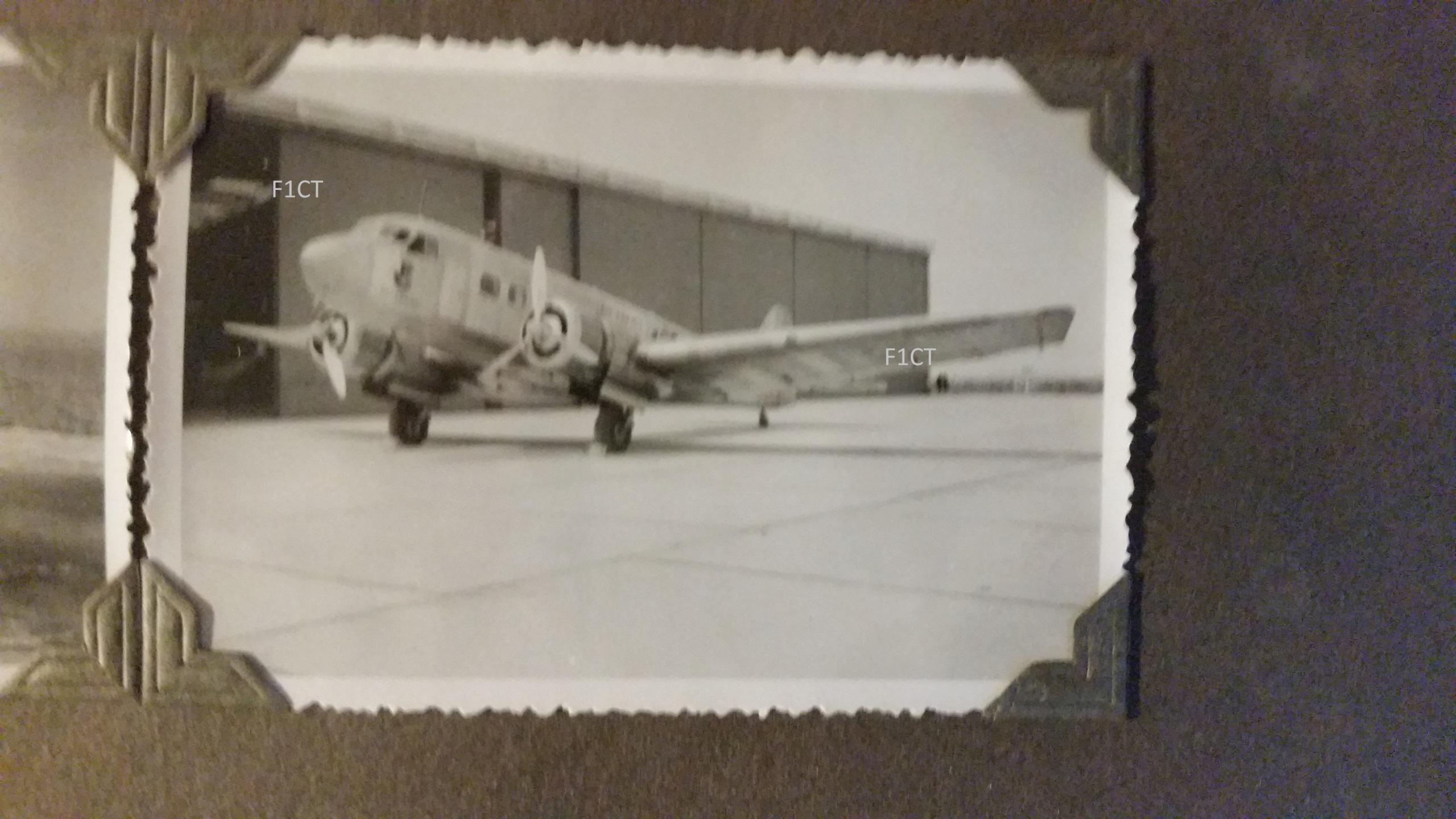 Superbe album aviation d'un LTN de réserve, immédiat avant guerre  20210158