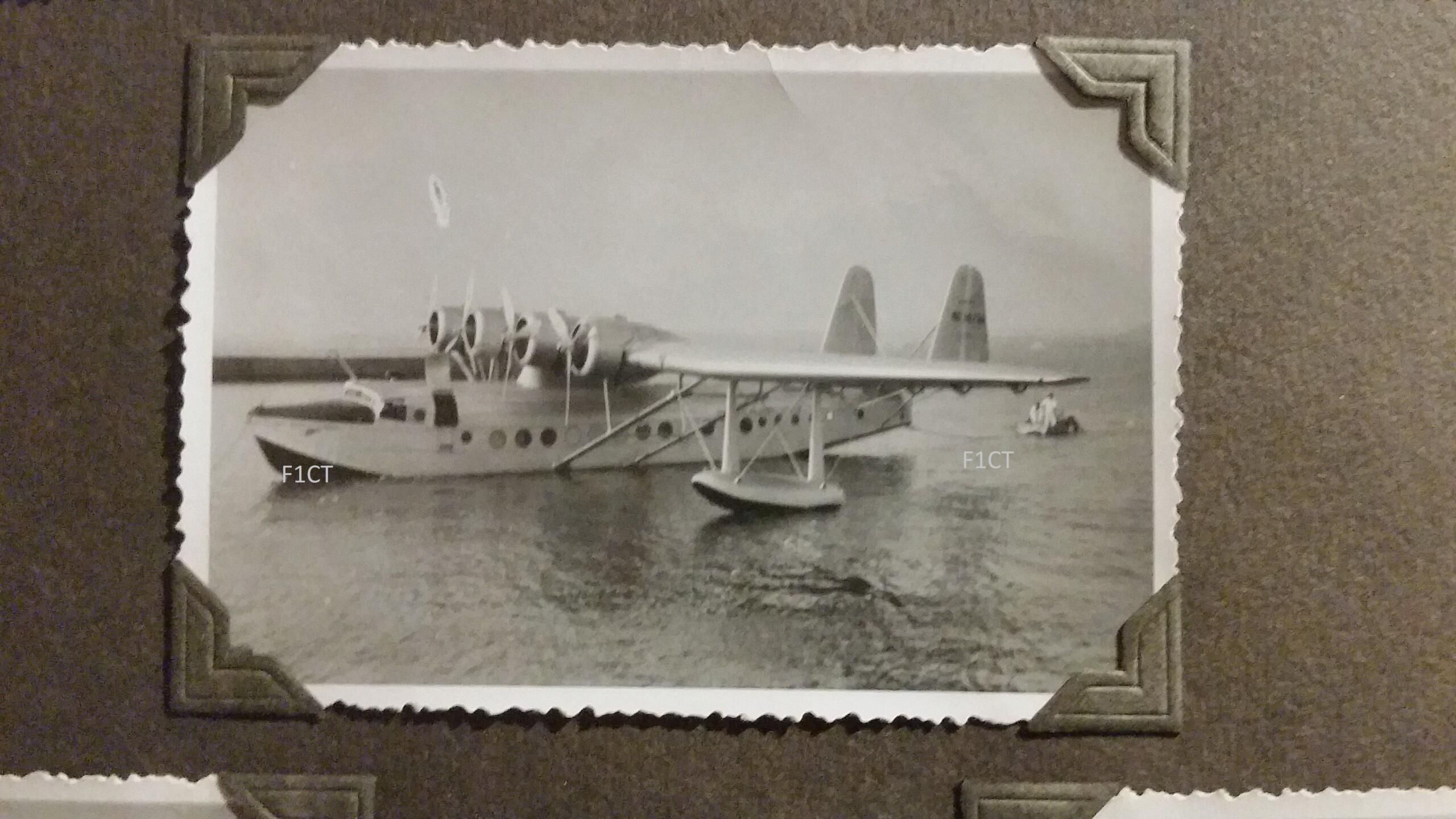 Superbe album aviation d'un LTN de réserve, immédiat avant guerre  20210160