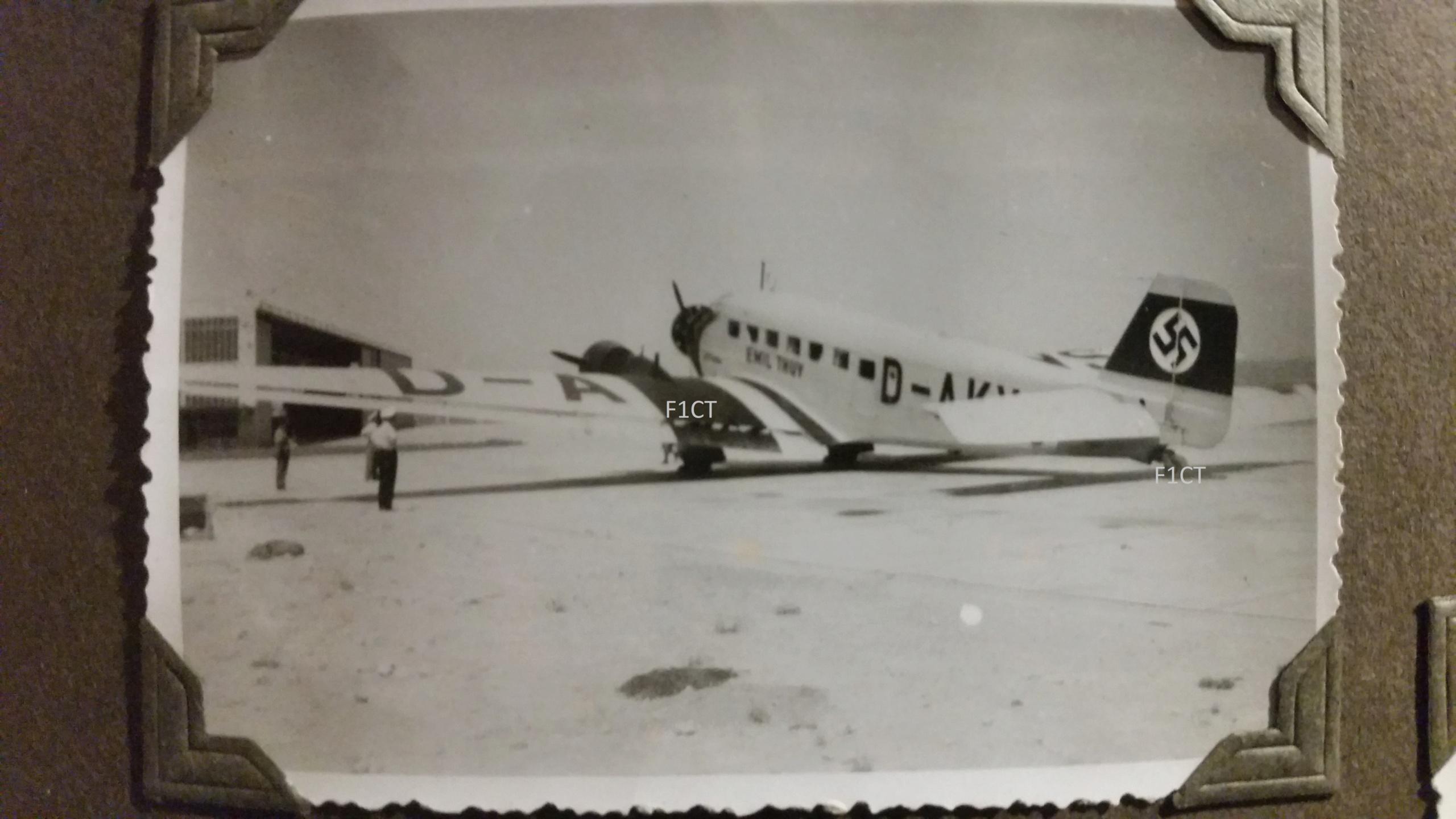 Superbe album aviation d'un LTN de réserve, immédiat avant guerre  20210163