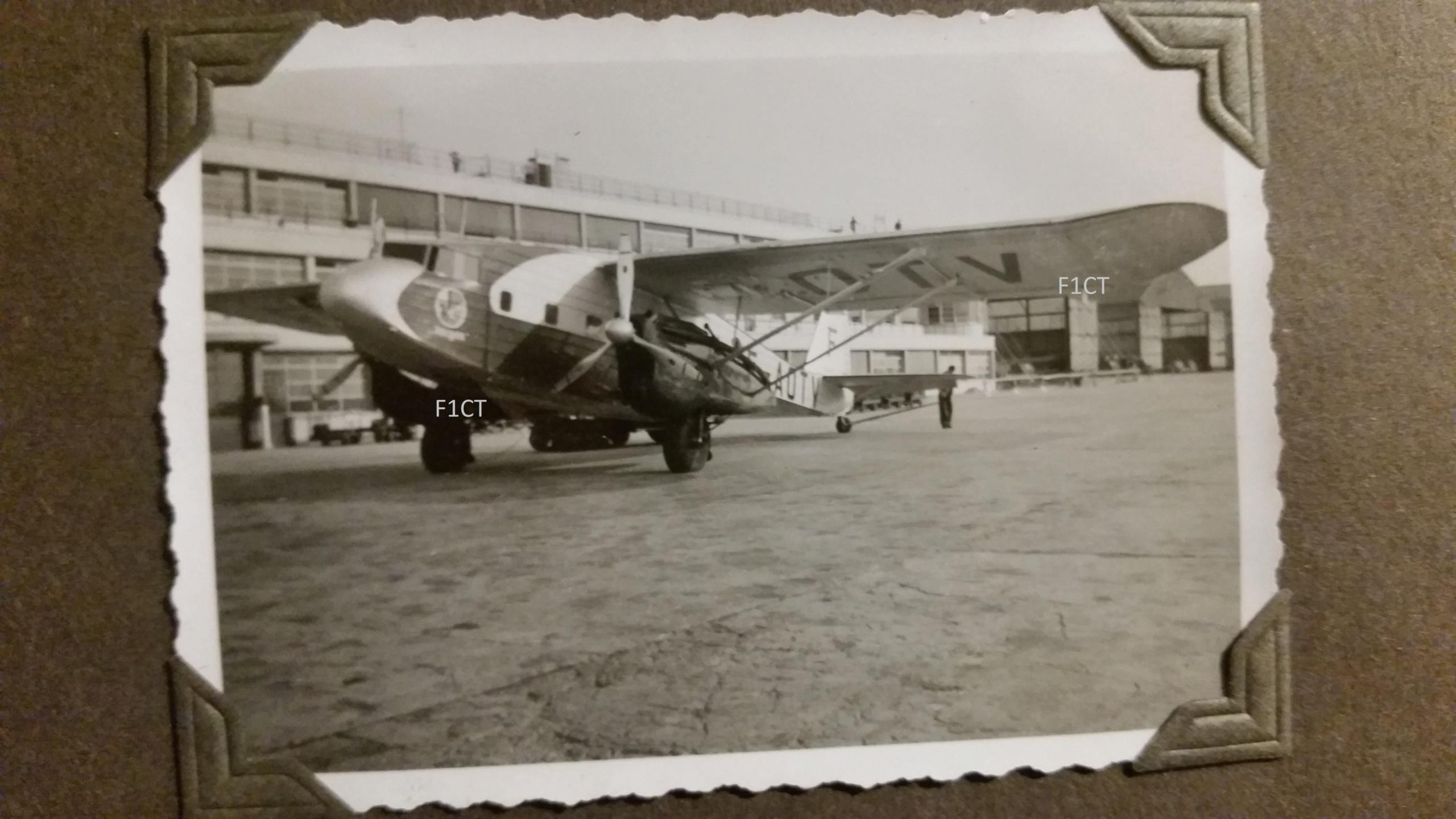 Superbe album aviation d'un LTN de réserve, immédiat avant guerre  20210170