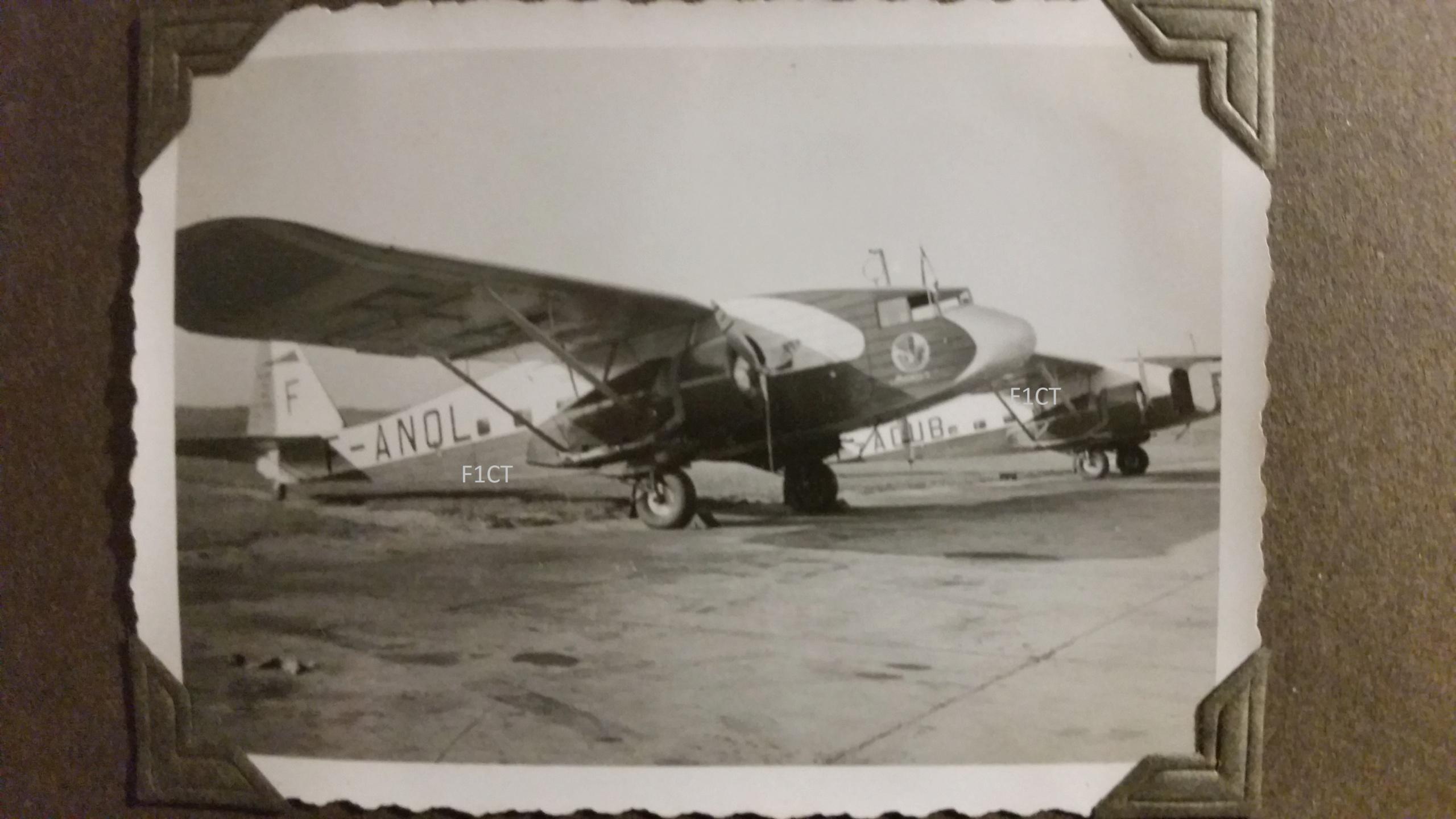 Superbe album aviation d'un LTN de réserve, immédiat avant guerre  20210171