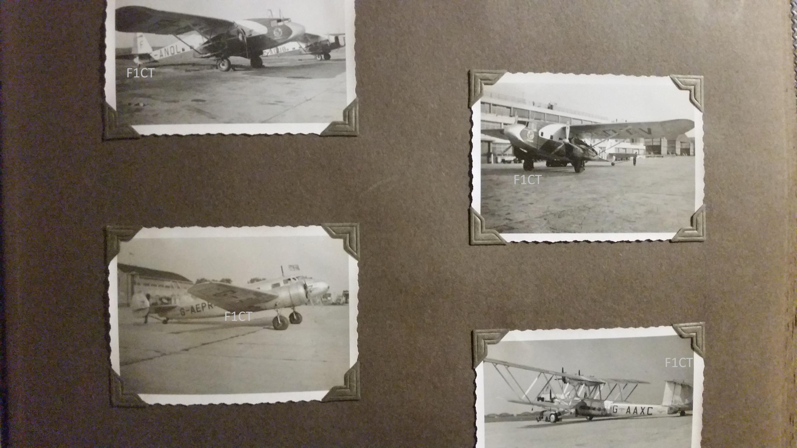 Superbe album aviation d'un LTN de réserve, immédiat avant guerre  20210172
