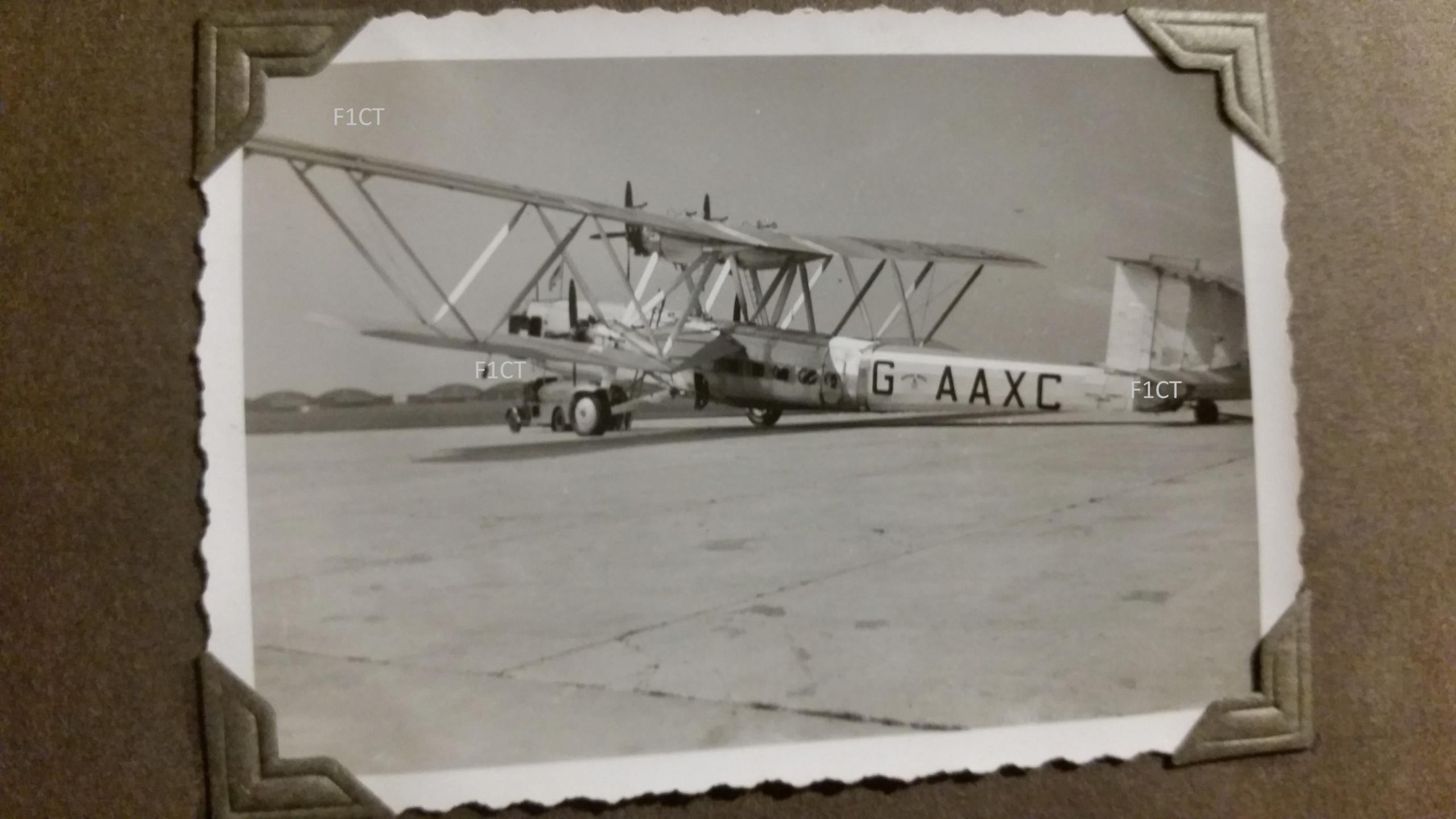 Superbe album aviation d'un LTN de réserve, immédiat avant guerre  20210173