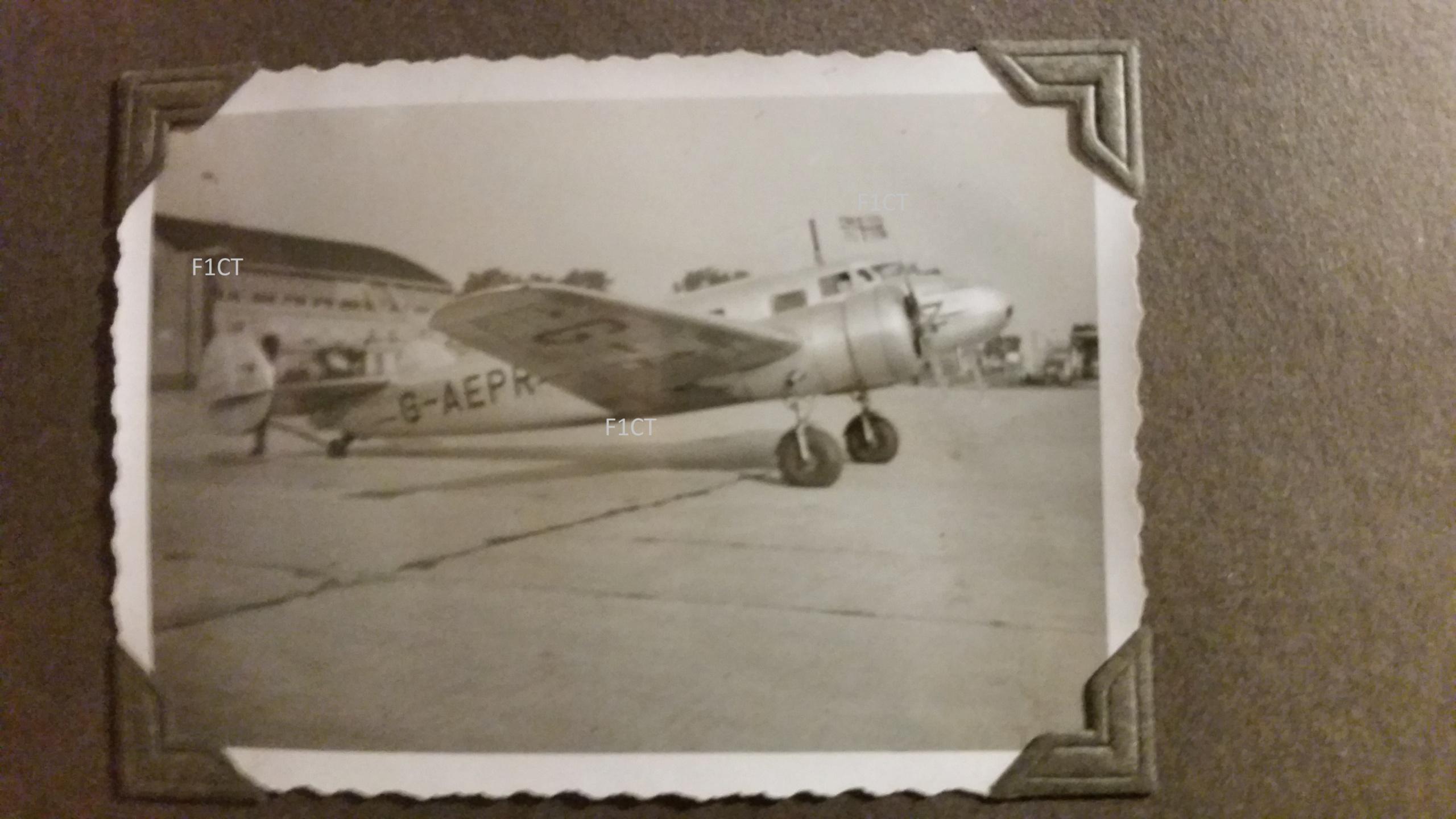 Superbe album aviation d'un LTN de réserve, immédiat avant guerre  20210174