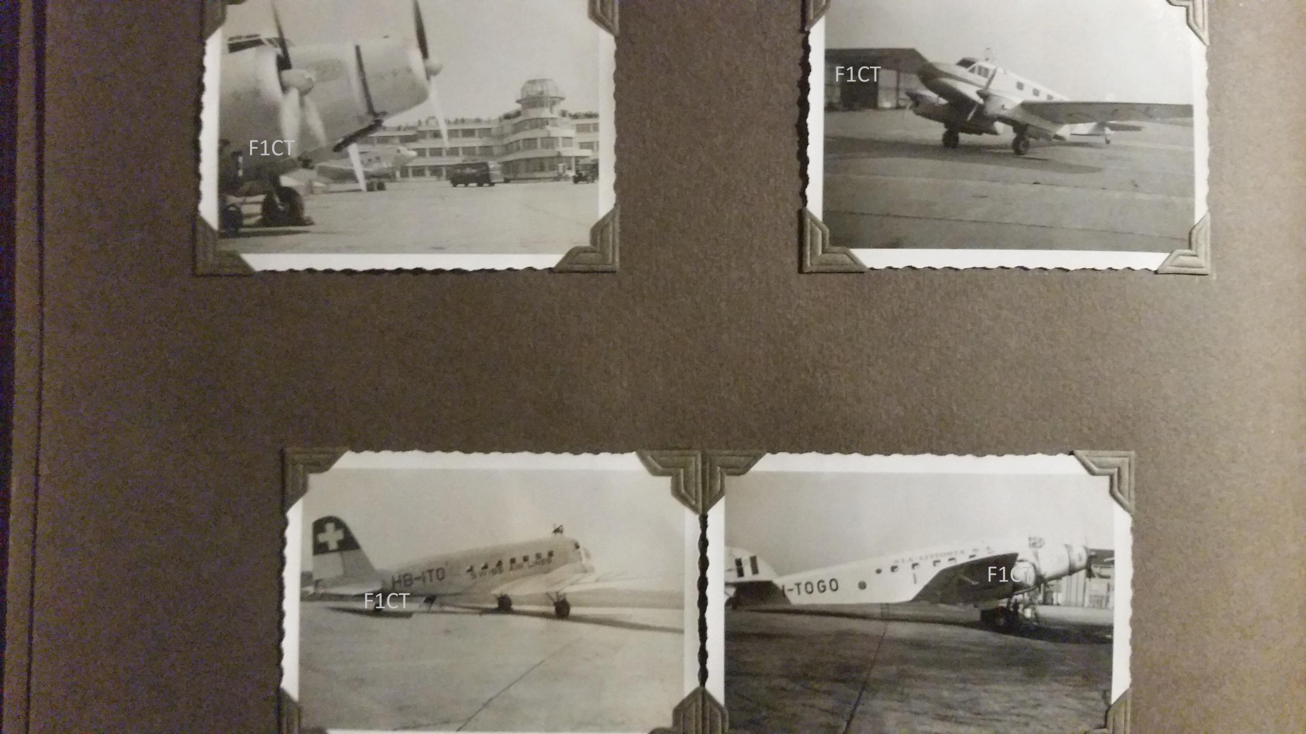 Superbe album aviation d'un LTN de réserve, immédiat avant guerre  20210175