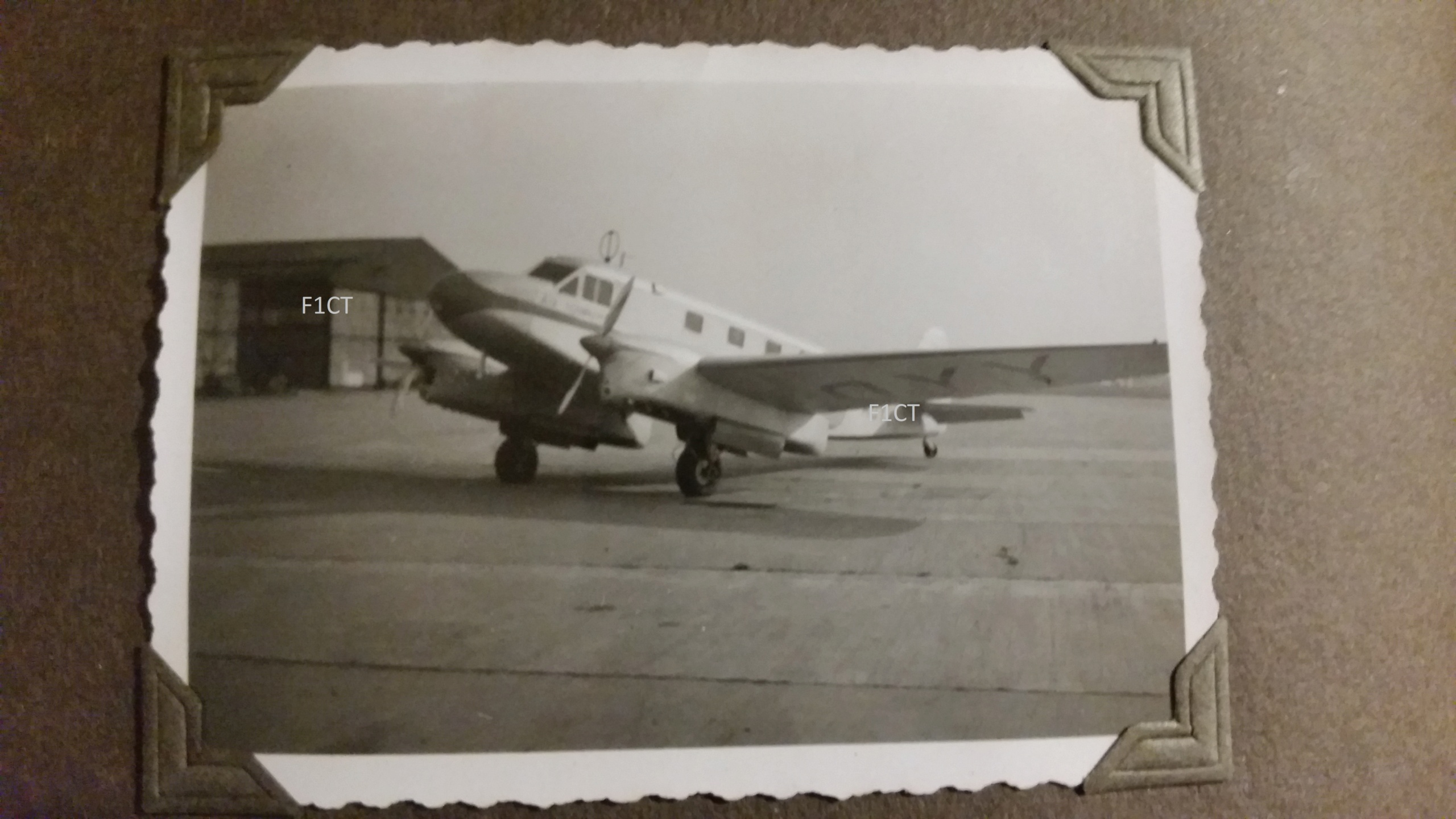 Superbe album aviation d'un LTN de réserve, immédiat avant guerre  20210176