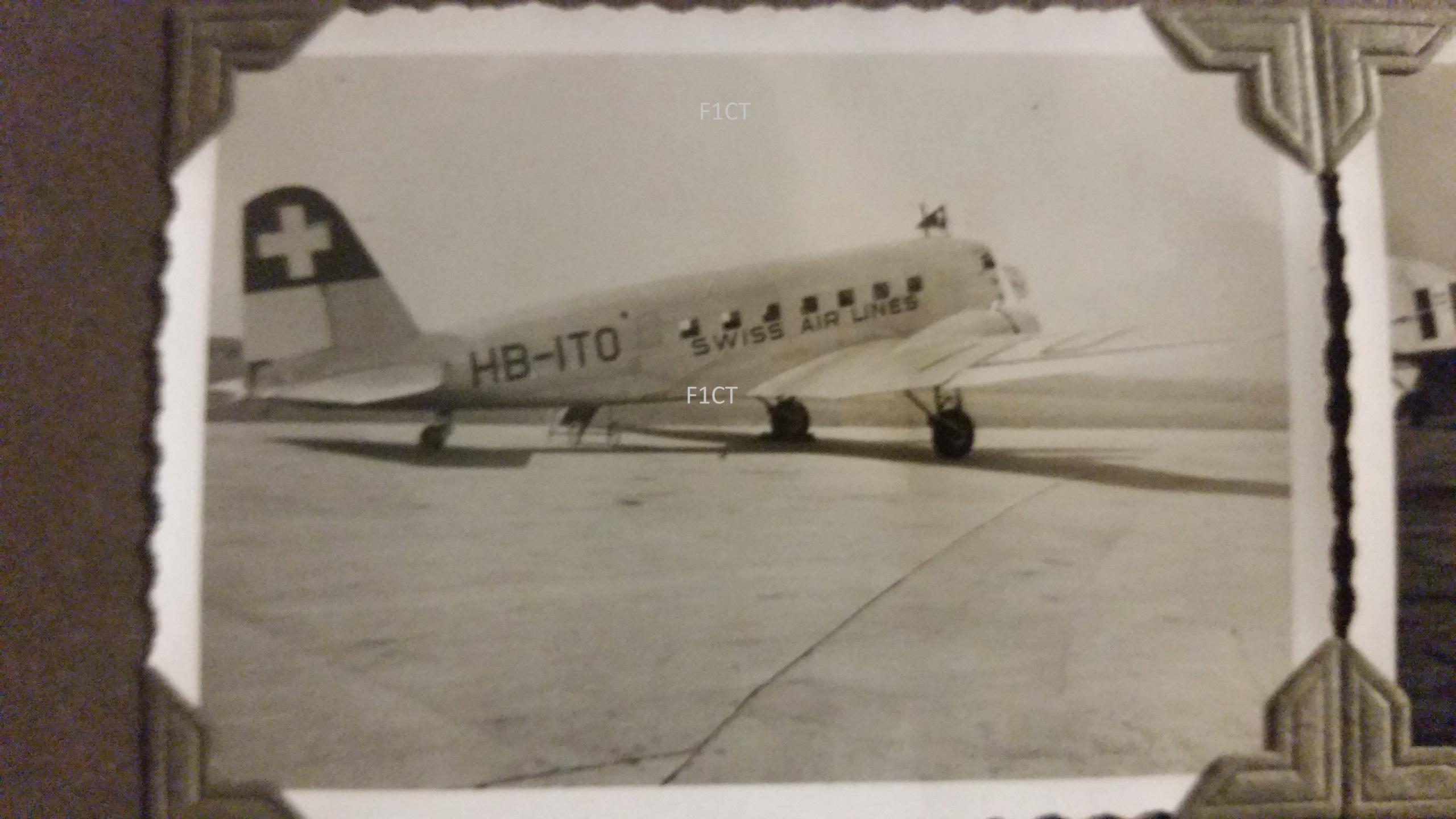 Superbe album aviation d'un LTN de réserve, immédiat avant guerre  20210178