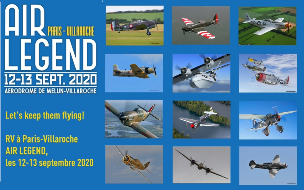 Meeting aérien: AIR LEGEND 2020 (Melun-Villaroche) ANNULE Exizhp10