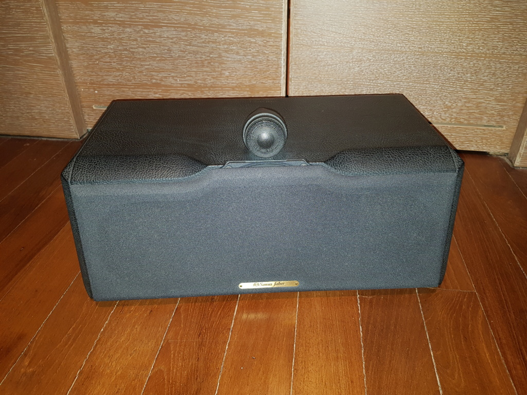 Sonus Faber Solo Home Center Speaker 20190515