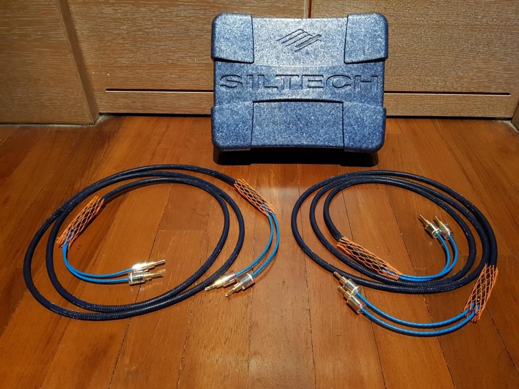 Siltech LS-68 Classic MK2 Speaker Cable 2.5m Pair Banana Plugs 20190914