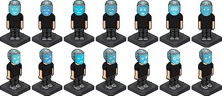 Caricati indumenti a tema Cyberpunk 2020 su Habbo Cyborg10