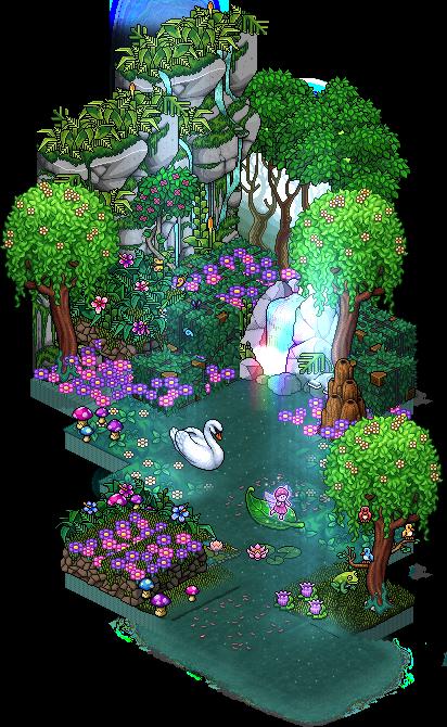 [ALL] Inserito affare stanza Foresta di Habbelina in catalogo su Habbo Forest10