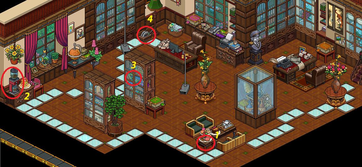 Soluzione gioco 20 Anni di Habbo | L'Ufficio di Maude #4 L98x0v10