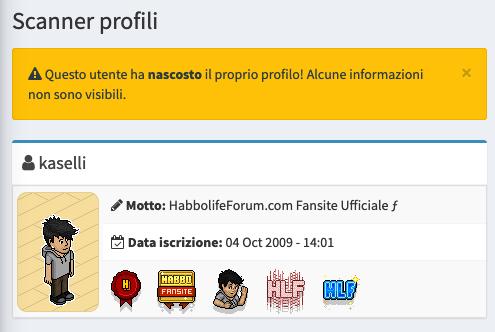 Profili nascosti non più visibili all'interno del client su Habbo Sche2298