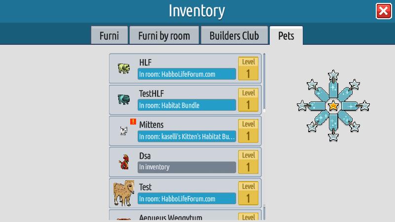 L'inventario e il Builders Club su Habbo2020 Sche2439