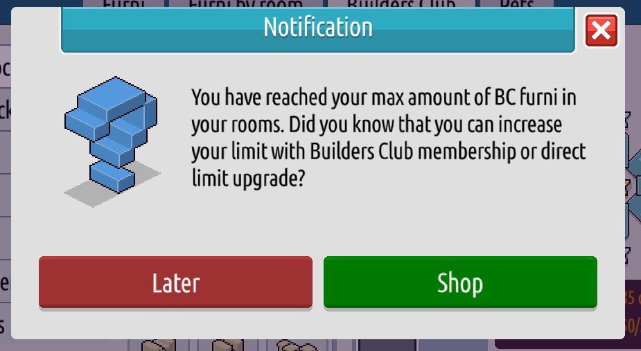 L'inventario e il Builders Club su Habbo2020 Sche2450