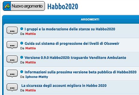 Modifiche ai traguardi e beta pubblica implementata Sche2653