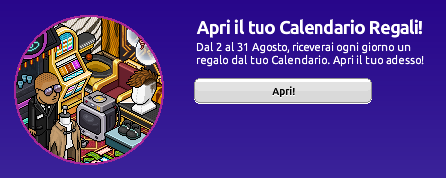 Calendario Regali di Agosto 2021 su Habbo Sche3110
