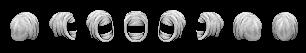 Indumenti ninja, guance di bambola, fascia e capelli da fantasma - Pagina 2 Sche3145