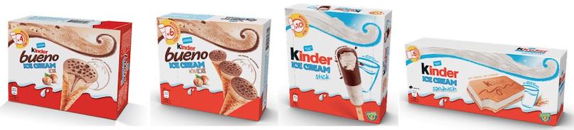 Gelati Kinder: 3 nuovi gusti in arrivo ispirati agli snack - Pagina 2 Scher271