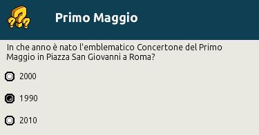 """[IT] Quiz """"Primo Maggio, festa del Lavoro"""" al Picnic Scher585"""