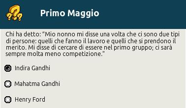 """[IT] Quiz """"Primo Maggio, festa del Lavoro"""" al Picnic Scher588"""