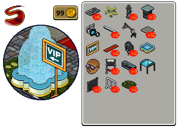 [ALL] Reinseriti 4 affari stanza Passerella in catalogo su Habbo Scher716