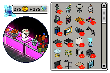 [ALL] Reinseriti 4 affari stanza Passerella in catalogo su Habbo Scher719