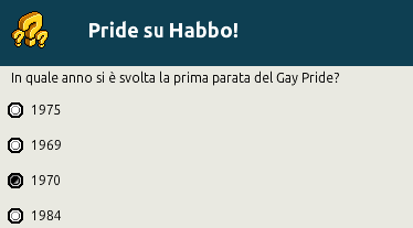 [IT] Quiz a tema Pride: Habbo Pride Trivia - Pagina 2 Scher729