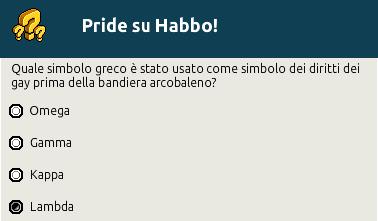[IT] Quiz a tema Pride: Habbo Pride Trivia - Pagina 2 Scher730