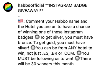 [ALL] Instagram Badge Giveaway su @habboofficial Scher751