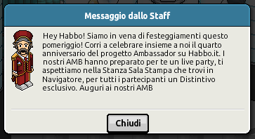 [IT] Resoconto Live 4° Anniversario Ambasciatori Habbo.it Scherm70