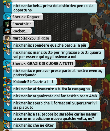 [IT] Resoconto Live 4° Anniversario Ambasciatori Habbo.it Scherm78