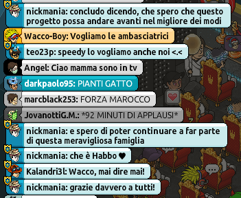 [IT] Resoconto Live 4° Anniversario Ambasciatori Habbo.it Scherm82