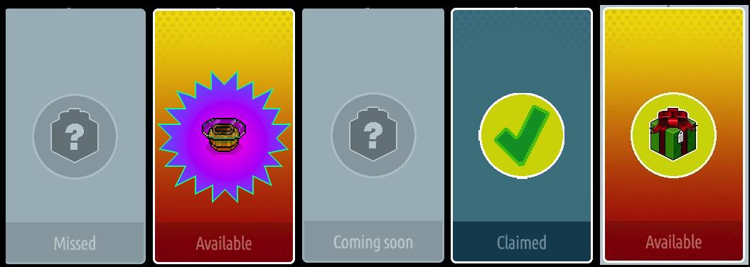 Calendario dei regali in fase di sviluppo su Unity Soso9z10