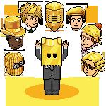 Caricati 8 nuovi Cappelli Dorati su Habbo Sprom373