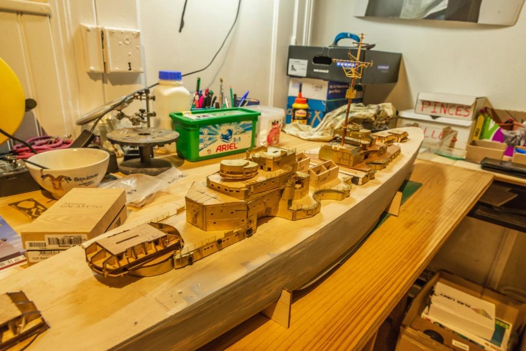 Construire le Bismarck 1/200 Hachette - Page 2 Hachet13