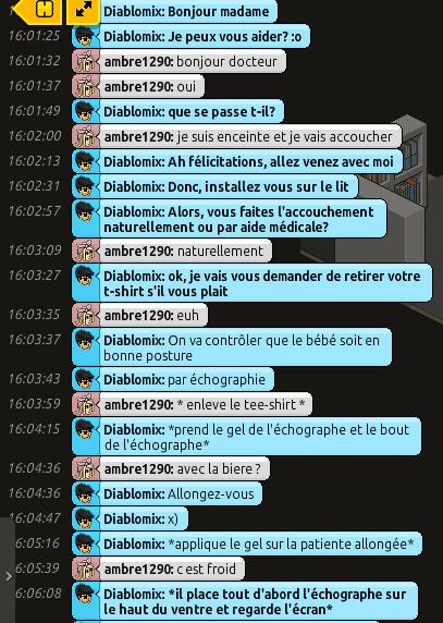 [C.H.U] Rapport d'action RP de Diablomix Rp112
