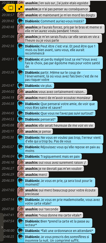 [C.H.U] Rapport d'action RP de Diablomix - Page 2 Rp226