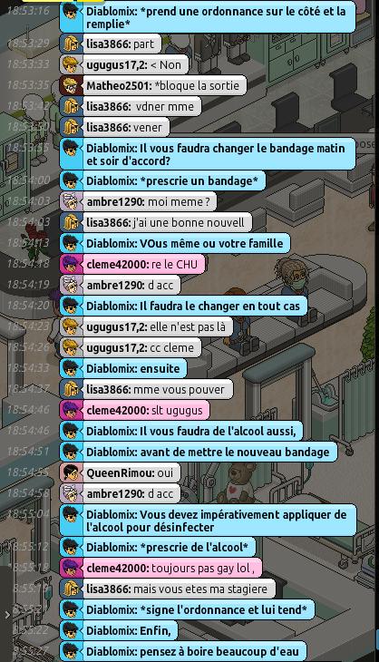[C.H.U] Rapport d'action RP de Diablomix Rp310