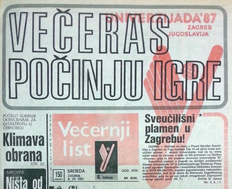 XIV. Ljetna univerzijada Zagreb 1987. - Page 4 66093110